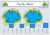 Frog Hop Addition Mat