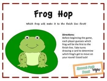 Frog Hop Barrier Game