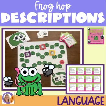 Describing Game: Frog Hop Descriptions