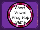 Frog Hop Game - Reading Short Vowel and CVC Words