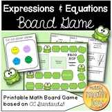 Expressions and Equations Board Game