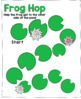 Frog Hop Roll and Count Game