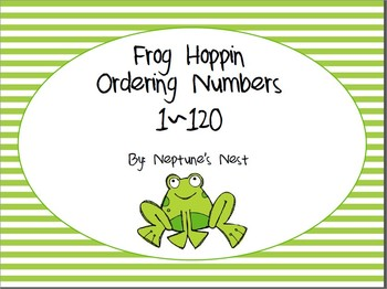 Frog Hoppin Ordering Numbers to 120