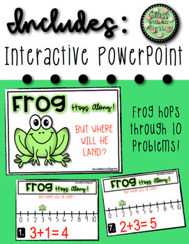Frog Hops Along the Number Line