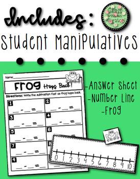 Frog Hops Back on the Number Line
