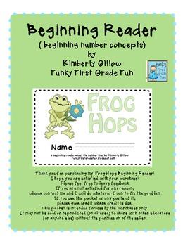 Frog Hops Beginning Reader