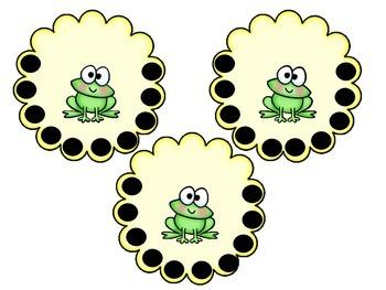 Frog Incentive Charts