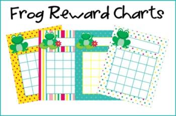 Frog Incentive Reward Charts