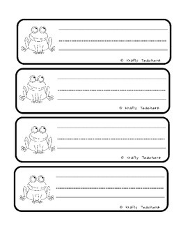 Frog Informational Writing Unit (non-fiction)