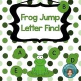Letter Recognition UPPERCASE/Capitals w/ bonus number find
