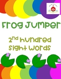 Frog Jumper - 2nd Hundred Sight Words