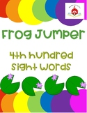 Frog Jumper - 4th Hundred Sight Words