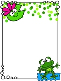 Frog Labels-3 Sizes!