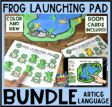 Frog Launching Pad Toy Companion BUNDLE: Artic & Language