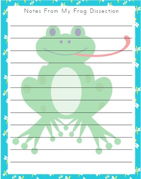 Frog Learning Pack (Middle School)