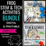 Frog Lesson Plans   STEM & Technology Bundle