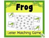Frog Letter Match