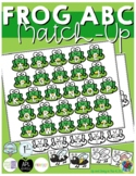 Frog ABC Match-up (Sensory Bin Mat)
