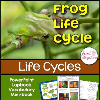 Frog Life Cycle: Slideshow, Lapbook, and Science Activities