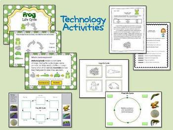 Frog Life Cycle - A Technology Integrated Unit