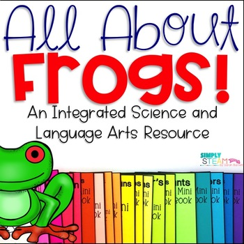 Frog Life Cycle Activity Page and Mini-Book