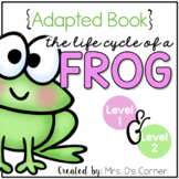 Frog Life Cycle Adapted Books [Level 1 and Level 2]