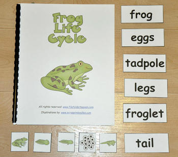 Frog Life Cycle Adapted Books Unit