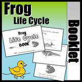 Frog Life Cycle Booklet (With Writing Support)