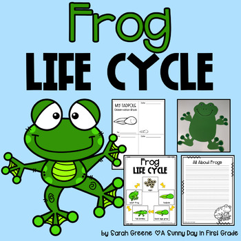 Frog Life Cycle (posters, printables, craft & writing)