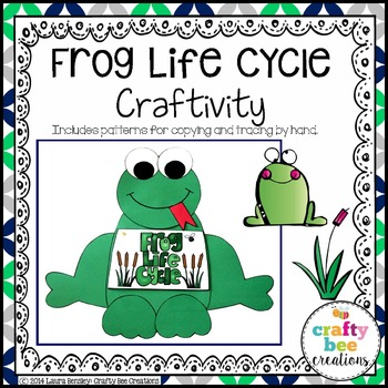 Frog Life Cycle Craftivity