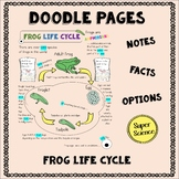 Frog Life Cycle Doodle Pages