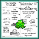 Frog Life Cycle Emergent Reader Booklet