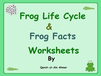 Frog Life Cycle Fact Worksheets: