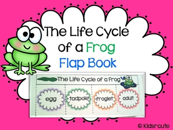 Life Cycles Flap Book {Frog}