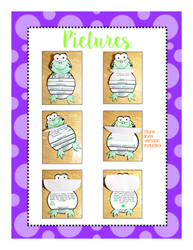 Frog Life Cycle Flip Book Craftivity