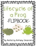 Frog Life Cycle Flip Book - NO CUT