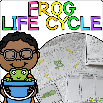 Frog Life Cycle {From Tadpole to Frog: a Non-Fiction Thematic Unit}