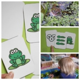 Frog Life Cycle Game and Sequencing Cards