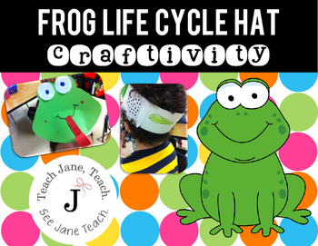Frog Life Cycle Hat Craftivity
