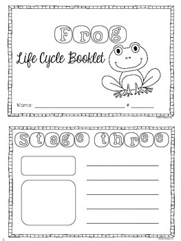 Frog Life Cycle {Informational Text, Printables, Cut & Paste Book}
