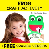Easy Craft - Frog Life Cycle Activity
