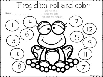 Frog Life Cycle Math and Literacy Fun