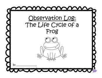 Frog Life Cycle Mega Packet