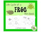 Frog Life Cycle: Mini Book