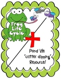 Frog Life Cycle Pack/ Pond Life Resource