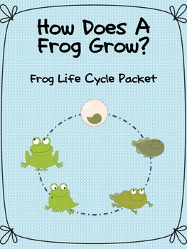 Frog Life Cycle Packet