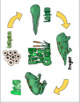 Frog Life Cycle Packet:  Poster, Vocabulary, & Worksheets