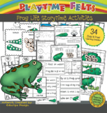 Frog Life Cycle PreK Printable Worksheets