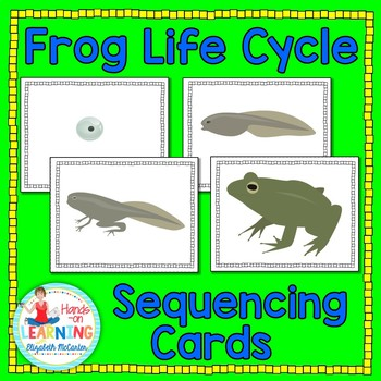 Frog Life Cycle Sequencing Cards