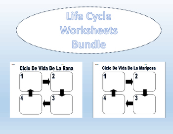 Spanish Life Cycle Bundle